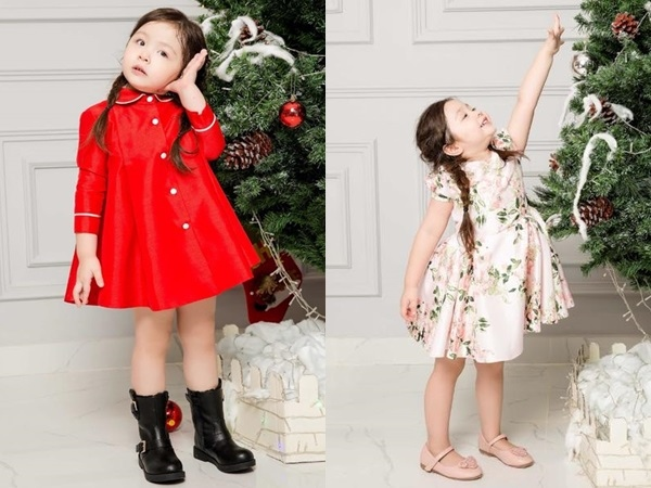 Con gái Elly Trần lại khiến fan phát sốt với hình ảnh xinh như công chúa