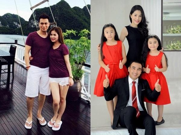 Những người vợ vừa xinh vừa giỏi làm hậu phương vững chắc cho các nam diễn viên điển trai Việt