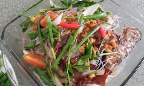 Cách nấu cá rô phi chưng tương hột đặc sản miền tây trong tích tắc - Ảnh 1