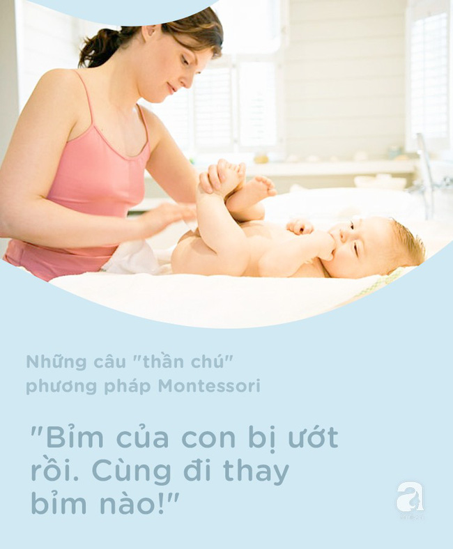 8 câu thần chú từ phương pháp Montessori dạy bé đi vệ sinh dễ dàng - Ảnh 2