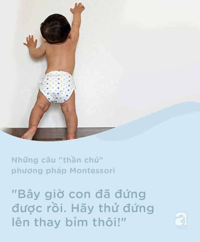 8 câu thần chú từ phương pháp Montessori dạy bé đi vệ sinh dễ dàng - Ảnh 3