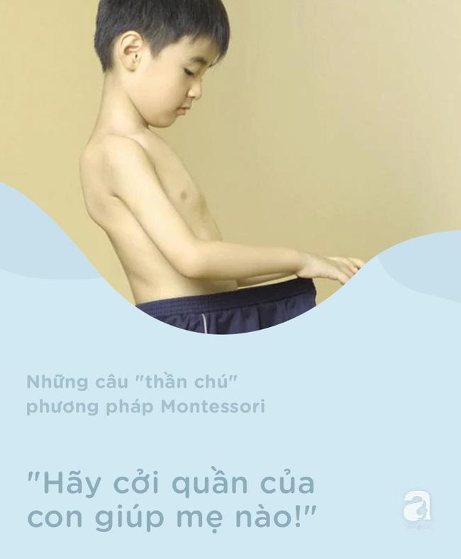 8 câu thần chú từ phương pháp Montessori dạy bé đi vệ sinh dễ dàng - Ảnh 4