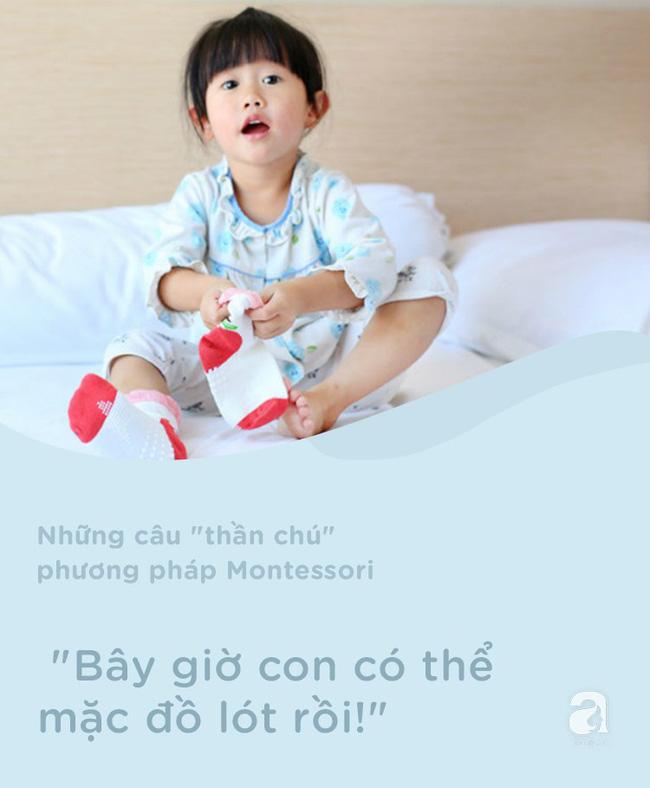 8 câu thần chú từ phương pháp Montessori dạy bé đi vệ sinh dễ dàng - Ảnh 8