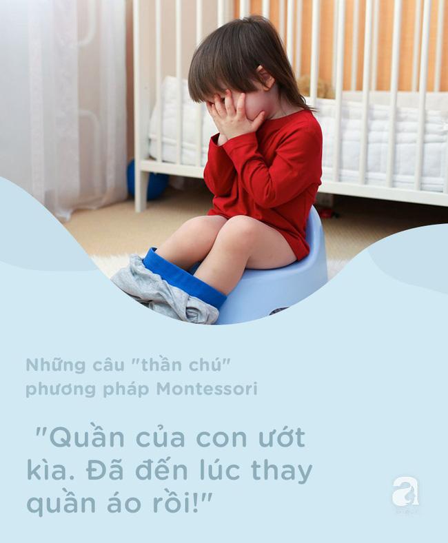 8 câu thần chú từ phương pháp Montessori dạy bé đi vệ sinh dễ dàng - Ảnh 9