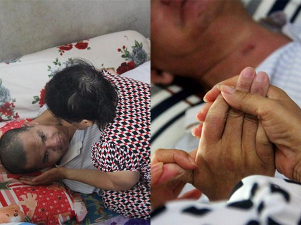 Cảm động chuyện tình muộn màng của người đàn bà khoèo chân bên người đàn ông bại liệt
