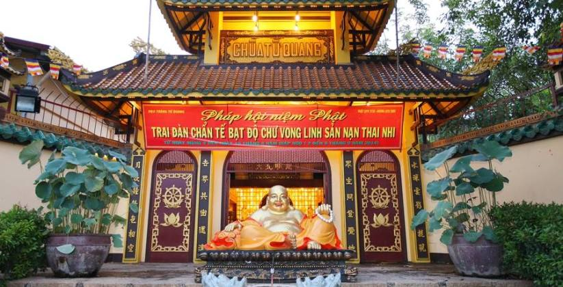 Có một ngôi chùa ở ngoại thành Sài Gòn nơi yên nghỉ của các hương linh thai nhi tứ xứ - Ảnh 7