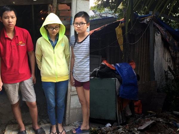 Cảnh đời bi đát của 3 chị em mồ côi cả cha lẫn mẹ trong căn lều nát giữa lòng Sài Gòn