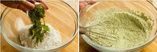 Mách mẹ cách làm bánh donut trà xanh thơm ngon, xốp mềm cho bé - Ảnh 4