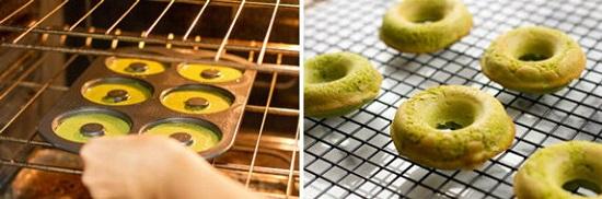 Mách mẹ cách làm bánh donut trà xanh thơm ngon, xốp mềm cho bé - Ảnh 7