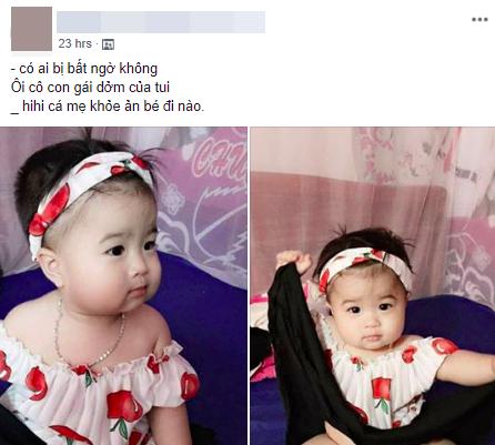 Mẹ khoe cô con gái dởm quá đỗi đáng yêu nhưng xem đến bức ảnh thứ 2 ai cũng bật cười ngã ngửa - Ảnh 1