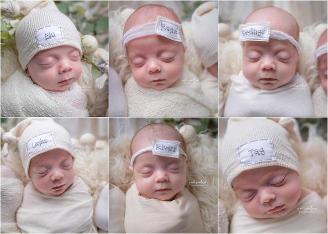 Ngắm những thiên thần đáng yêu trong ca sinh 6 hiếm gặp với 3 bé trai và 3 bé gái - Ảnh 3