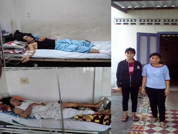 Thảm cảnh đôi vợ chồng nghèo 5 con bị xe tải đâm trên đường về nhà: 'Chân tôi đứt rồi! Ai nuôi con tôi đây!'