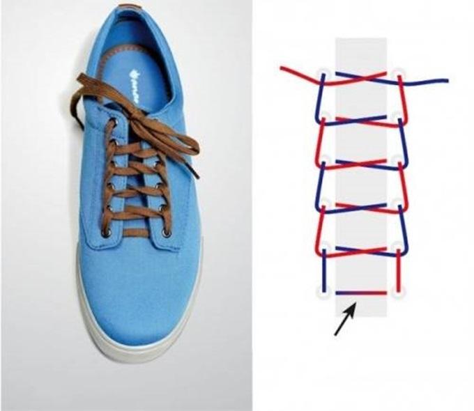 Đi giày thể thao suốt ngày mà không biết 5 kiểu thắt dây độc – lạ lại đẹp xuất sắc này thì thật uổng phí - Ảnh 2