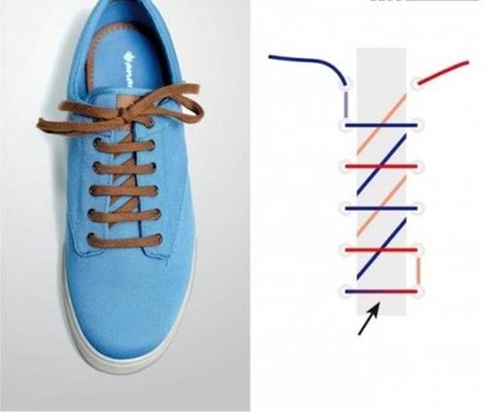Đi giày thể thao suốt ngày mà không biết 5 kiểu thắt dây độc – lạ lại đẹp xuất sắc này thì thật uổng phí - Ảnh 3