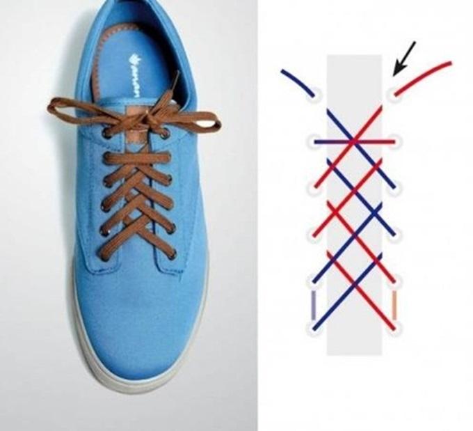 Đi giày thể thao suốt ngày mà không biết 5 kiểu thắt dây độc – lạ lại đẹp xuất sắc này thì thật uổng phí - Ảnh 4