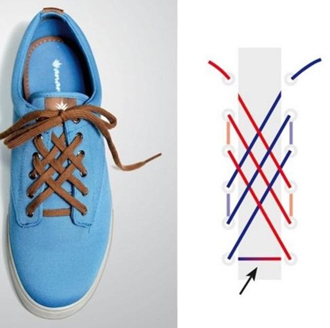 Đi giày thể thao suốt ngày mà không biết 5 kiểu thắt dây độc – lạ lại đẹp xuất sắc này thì thật uổng phí - Ảnh 5