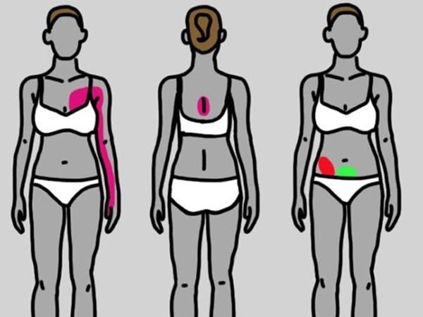 Nếu thấy đau ở 9 vị trí này thì bạn nhất định không thể xem thường