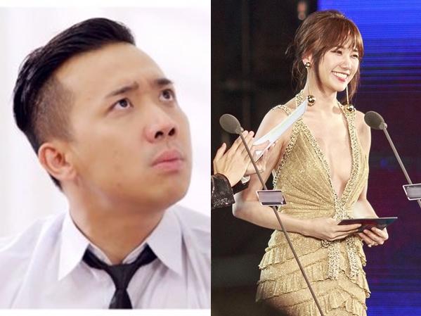 Thấy bà xã Hari Won diện đầm hở ngực, Trấn Thành phản ứng bất ngờ khiến ai cũng sốc!