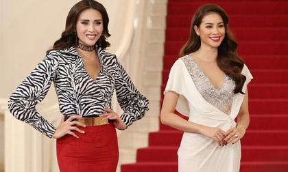 Võ Hoàng Yến bị tố đi trễ, hét giá cát sê khi thi Miss World 2008