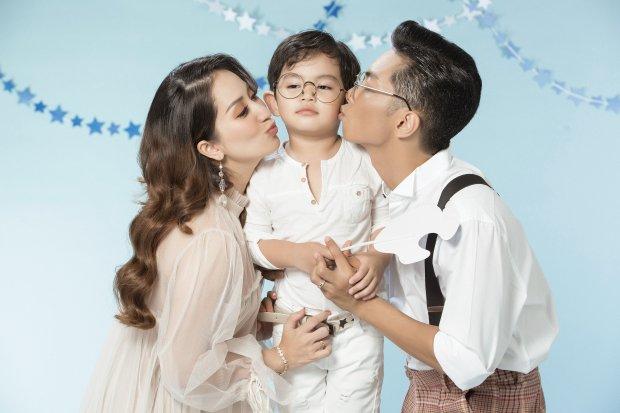 Trớ trêu, Khánh Thi khoe ảnh gia đình hạnh phúc nhưng dân mạng cứ ngỡ là 3 mẹ con - Ảnh 1