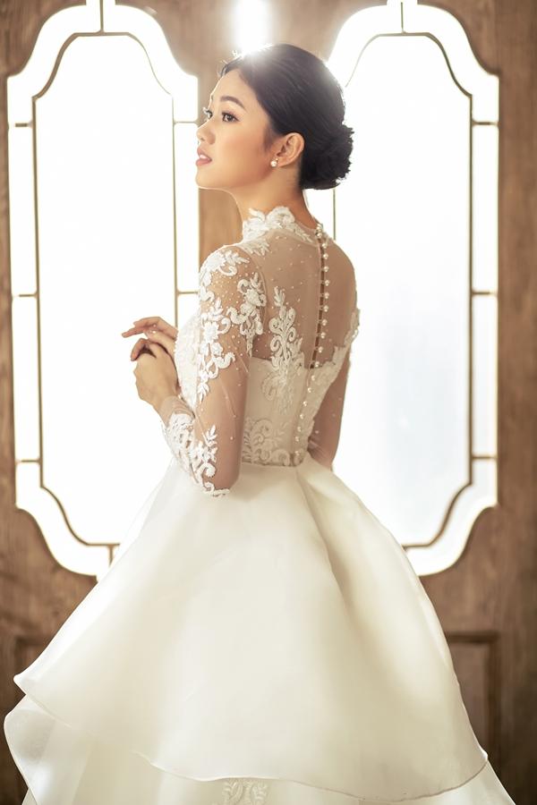 Mặc tin đồn cưới chạy bầu, Á hậu Thanh Tú khoe nhan sắc lộng lẫy sau một tháng kết hôn - Ảnh 4