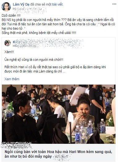 Sợ bị soi 'ăn như bị bỏ đói' giống Hari Won, Á hậu Trịnh Kim Chi ngồi ăn tiệc mà khổ hơn ra mắt nhà chồng - Ảnh 3