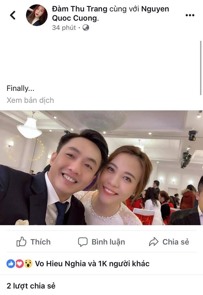 Hot: Rò rỉ hình ảnh đám hỏi Cường Đô la và Đàm Thu Trang ở Lạng Sơn - Ảnh 1