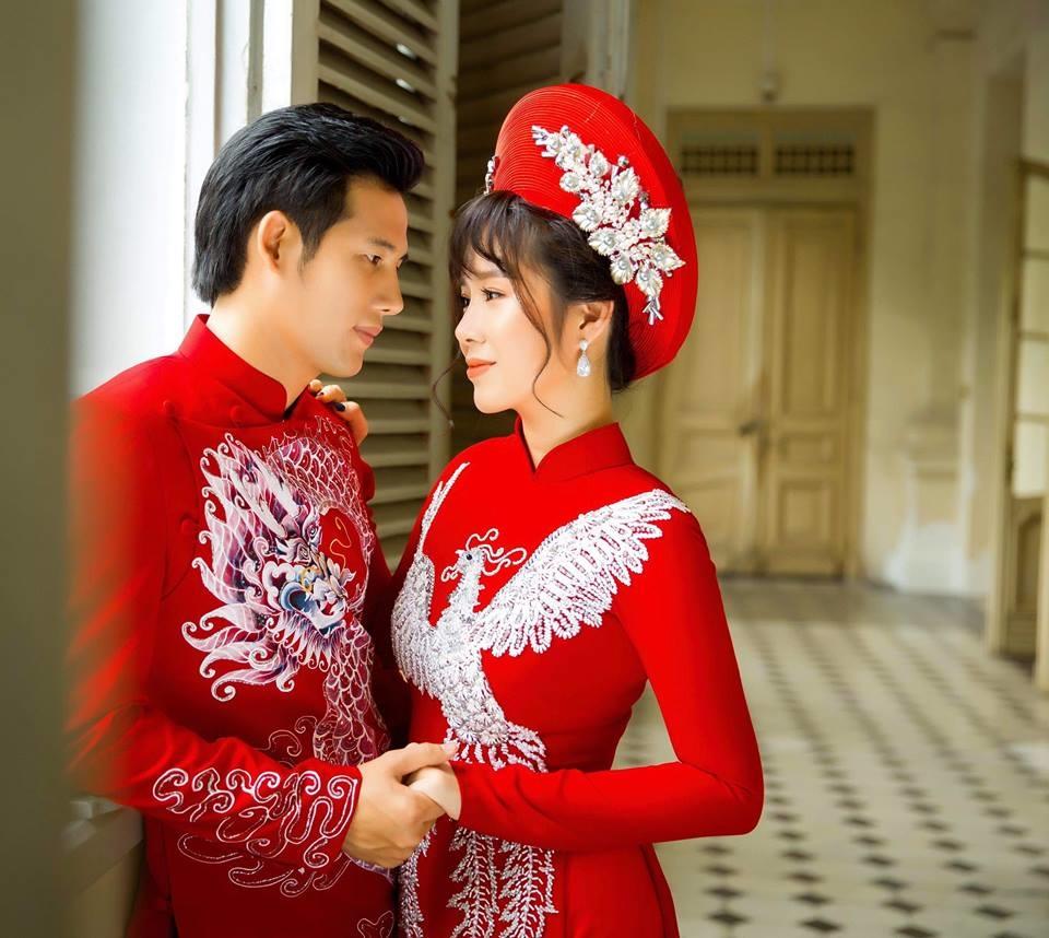 'Rụng tim' với loạt ảnh cưới đẹp như mơ của Hương và Tường trong 'Gạo nếp gạo tẻ' - Ảnh 2