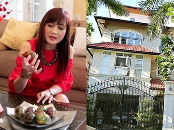 Khám phá biệt thự triệu đô, đẹp lộng lẫy như cung điện của diễn viên Hiền Mai