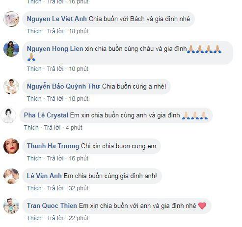 Nghe tin bố Hoàng Bách đột ngột qua đời, loạt sao Việt vội vã gửi lời chia buồn - Ảnh 5