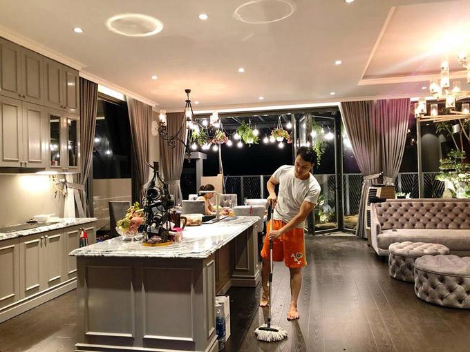Choáng ngợp với cuộc sống sang chảnh của Cao Thái Sơn trong căn villa đẹp như hoàng cung - Ảnh 5