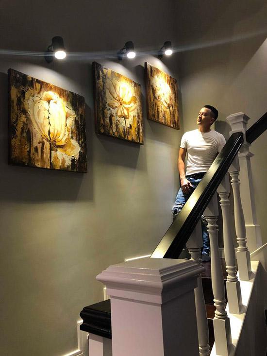 Choáng ngợp với cuộc sống sang chảnh của Cao Thái Sơn trong căn villa đẹp như hoàng cung - Ảnh 7
