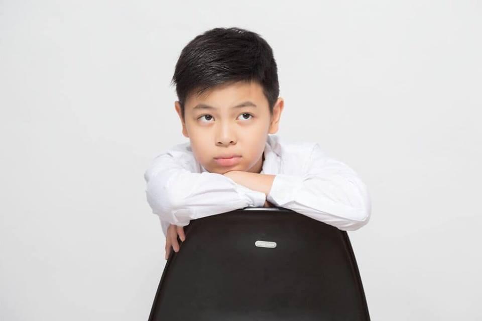 Con trai Cát Phượng giống Thái Hòa như một bản sao hoàn hảo - Ảnh 3
