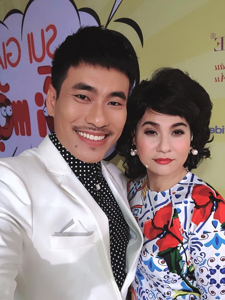 Hơn Kiều Minh Tuấn 18 tuổi, Cát Phượng bị giao đóng vai mẹ của chồng trẻ khiến fan cười 'rớt hàm' - Ảnh 1