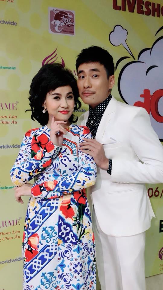 Hơn Kiều Minh Tuấn 18 tuổi, Cát Phượng bị giao đóng vai mẹ của chồng trẻ khiến fan cười 'rớt hàm' - Ảnh 3