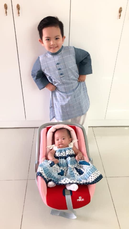 Sinh non nặng 2,2kg, con gái út Khánh Thi - Phan Hiển giờ đã bụ bẫm đáng yêu như thiên thần - Ảnh 3