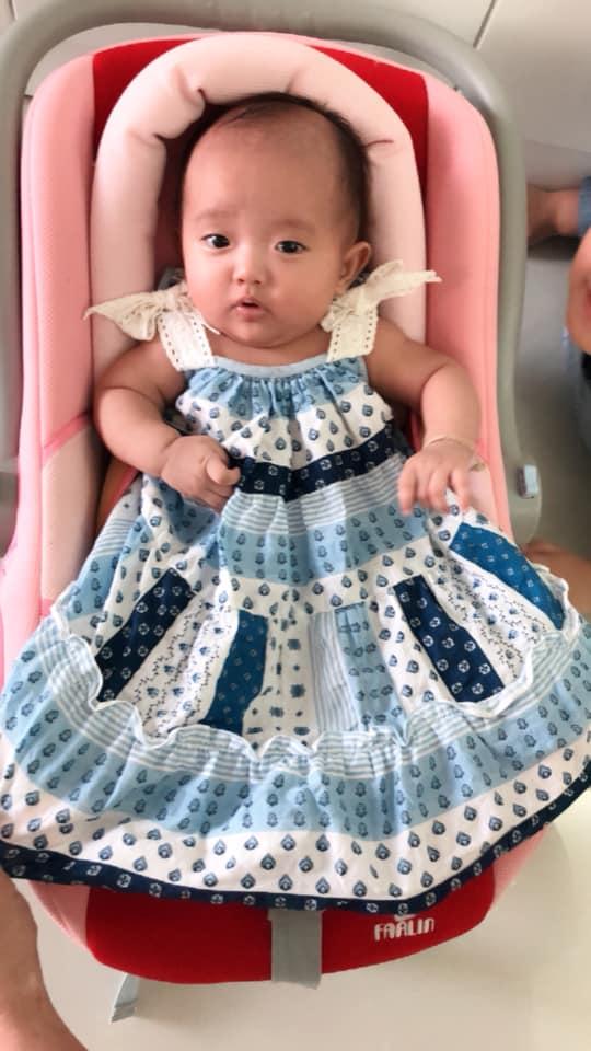 Sinh non nặng 2,2kg, con gái út Khánh Thi - Phan Hiển giờ đã bụ bẫm đáng yêu như thiên thần - Ảnh 4