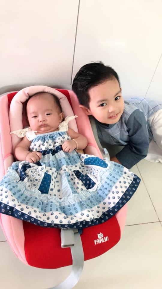 Sinh non nặng 2,2kg, con gái út Khánh Thi - Phan Hiển giờ đã bụ bẫm đáng yêu như thiên thần - Ảnh 5