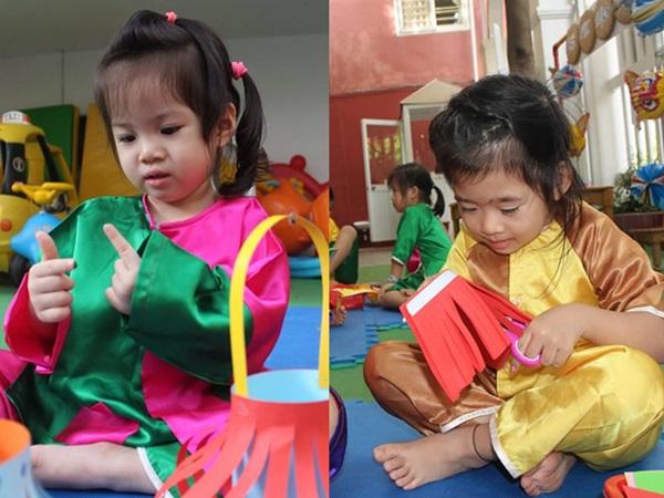 Xúc động với hình ảnh con gái Mai Phương đi học trở lại ở trường quốc tế, ngây thơ vui đùa cùng bạn bè