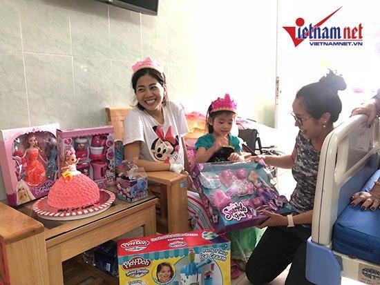 Mai Phương gượng dậy tổ chức sinh nhật cho con gái trong bệnh viện - Ảnh 5