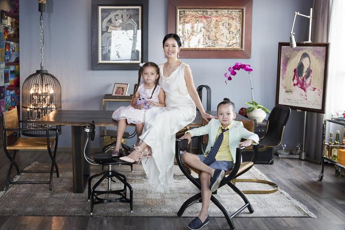 Hồng Nhung mang hai con rời khỏi biệt phủ triệu đô, đang sống ở nơi này sau ly hôn chồng Tây - Ảnh 1