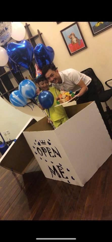 Cường Đô la đón sinh nhật bên Đàm Thu Trang và con trai ở quê nhà - Ảnh 3