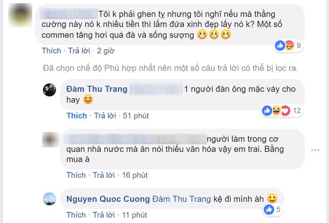 Bị nói lấy Cường Đô la vì tiền, Đàm Thu Trang đáp trả sắc như dao - Ảnh 2