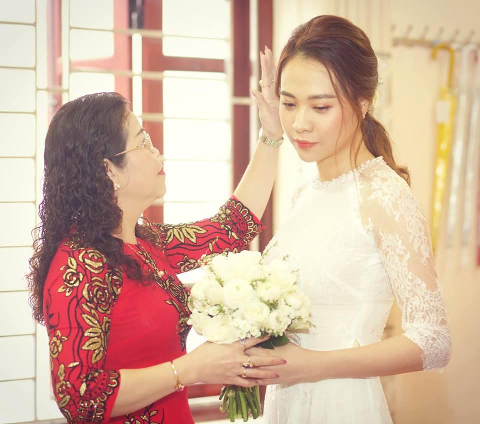 Đàm Thu Trang lần đầu đăng ảnh cô dâu và lời tâm sự xúc động dành cho mẹ - Ảnh 2