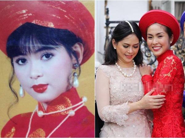 Mạng xã hội bỗng 'sốt xình xịch' với bức ảnh thời 25 tuổi của mẹ chồng Hà Tăng