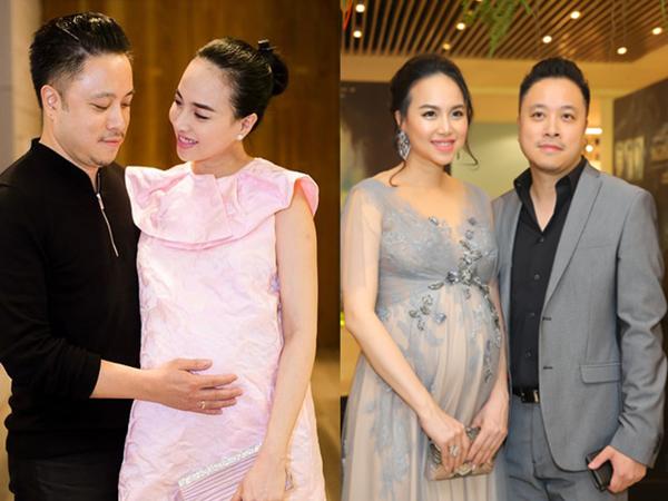 Tin sốt dẻo: Đinh Ngọc Diệp đã sinh con trai đầu lòng với đạo diễn Victor Vũ