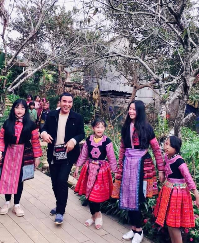 Gia đình MC Quyền Linh gây bão với bộ ảnh tuyệt đẹp ở Mộc Châu - Ảnh 10