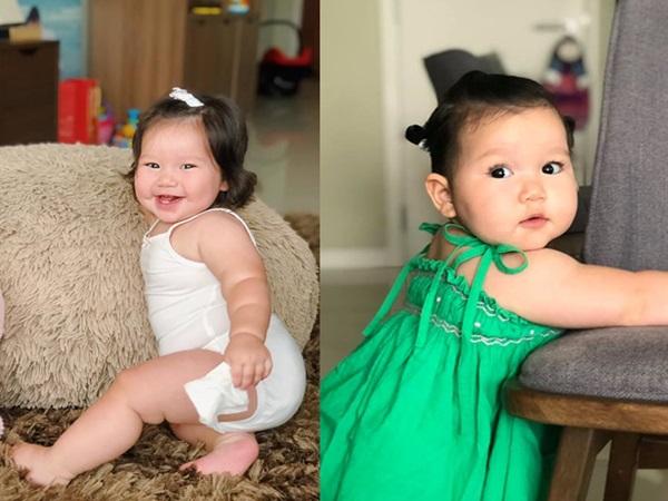 Loạt biểu cảm siêu đáng yêu của con gái Hà Anh khiến dân mạng thích mê