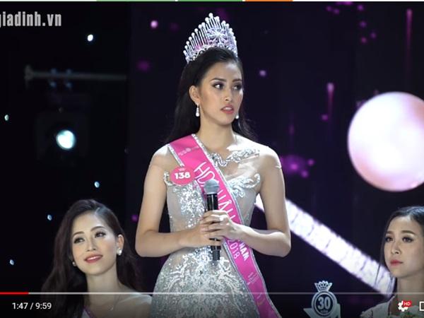 Bật cười với màn trả lời phỏng vấn ngô nghê, ấp úng như chưa thuộc bài của tân Hoa hậu sau khi đăng quang - Ảnh 3