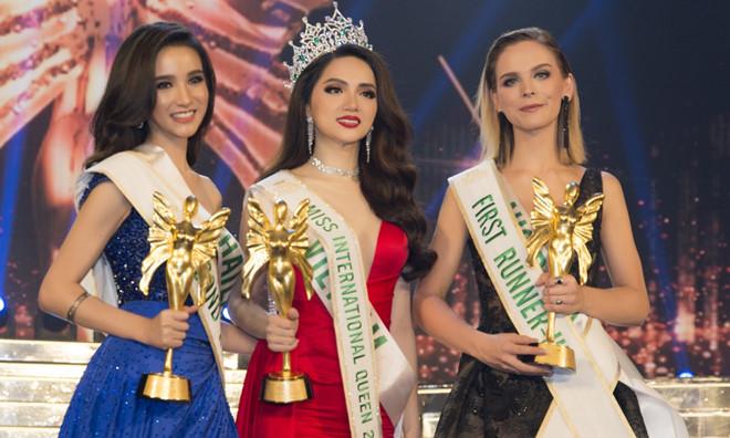 Hoàng Hải Thu 'ăn gạch đá' vì lên tiếng chúc mừng Hương Giang đăng quang Hoa hậu - Ảnh 5